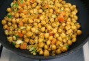 Burnt Chana Salad